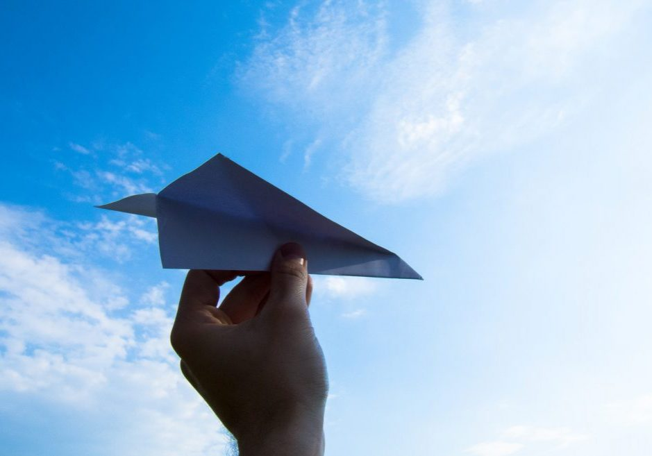 Pixabay avion papier